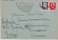 ITALIA RSI  - storia postale: BUSTA spedita ESPRESSO - IN TARIFFA 1944