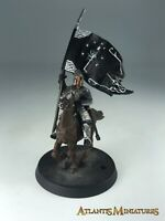 Metal Minas Tirith Mounted Banner - LOTR / Warhammer / Lord of the Rings XX314