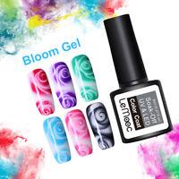 LEMOOC 8ml Blossom Gellack White Clear Soak Off UV Gel Polish Nagel Kunst Gel
