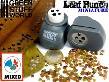 Miniature Leaf Punch GREY - Tool to make your LEAVES for Dioramas Scenery Bases