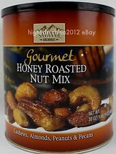 Savanna Orchards Gourmet Honey Roasted Nuts Cashew Almond Peanuts Pecans 30 oz.