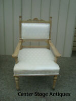 60070 Quality Antique  Decorator Armchair Bergere Chair