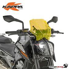 Bulle Kappa Orange 25x31cm pour KTM Duke 790 2018>