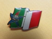 125 - Pin's - Drapeau Italien - Albertville