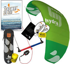HQ HQ4 Hydra 350 3.5M Water Trainer Kite Kiteboarding SUP Foil + Way To Fly DVD