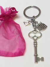 "21st Birthday Gift - Keyring ""key to the door' traditional gift"
