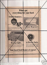Vintage 1965 Popular Mechanics Magazine Ad A14 Ford Local Dealer Accessories
