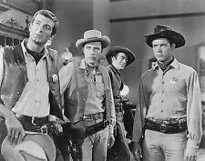 Chad Everett, Larry Ward, Jack Elam, Michael Greene -The-Dakota's   - 8 1/2 X 11