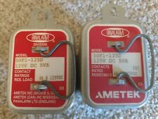 """Lot of 2"" Ametek Panalarm 50F1-125D Relay - New/Old Stock"