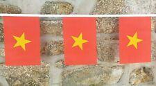 Vietnam Flag Polyester Bunting - Various Lengths