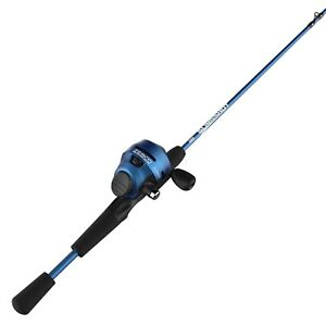 Slingshot Spincast Reel and Fishing Rod Combo, 5-Foot 6-Inch 2-Piece Fishing