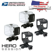 Gopro Hero 4 5 Session 40m Underwater Waterproof Diving Housing Frame Cover Case