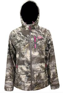 SM NEW Womens Ladies WATERPROOF Scent Control RealTree MAX-1 XT Coat Jacket Camo