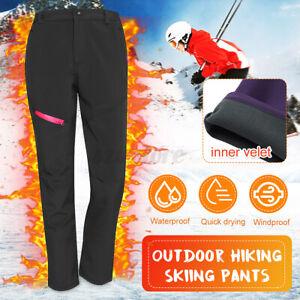Men Women Lady Warm Pants Winter Warm Trousers Outdoor Sports Travel Hiking Ski