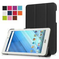 NEW Ultra Leather Smart Case Cover for Acer Iconia One 8 B1-850 8 Inch