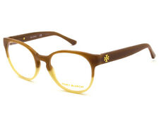 14a9c03d0e Tory Burch Eyeglasses TY 2069 1238 Light Brown Ivory Round Frame 49  19 135