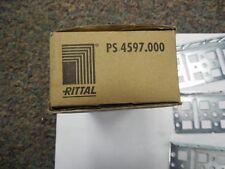 RITTAL, PS 4597.000, INSTALLATION BRACKETS, 1 PARTIAL BOX OF 3 BRACKETS.