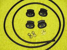 "4mm Electrosex E-Stim Conductive Shocking Tubing 36""+ long w/ 8 stainless beads"