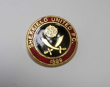 SHEFFIELD UNITED FC -  VINTAGE ENAMEL COFFER BADGE