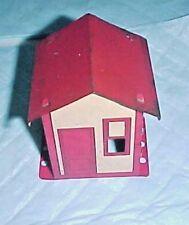 """1949-62 A C GILBERT ERECTOR MX HOUSE OR SHANTY 2 1/2"""" ROOF NO WINDOW IN DOOR"""