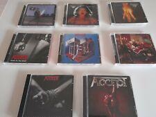 Accept CD,S aus meiner Metal Sammlung