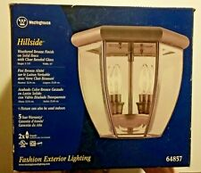 Exterior Lighting Westinghouse Hillside Collection Weathered Bronze Finish