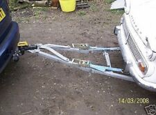 Vehicle recovery A-Frame, tow / towing dolly plans (Self build)