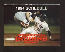 Indianapolis Indians--1994 Pocket Schedule--Dairy Queen