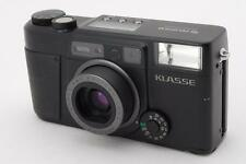 Exc++++++  Fujifilm KLASSE Professional Black Point & Shoot Film Camera Japan