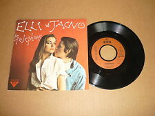 "*ELLI MEDEIROS & JACNO 45 TOURS 7"" FRANCE LE TELEPHONE"