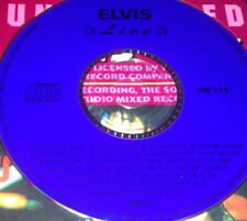 Elvis Presley Live CD Very Rare Blue Suede Shoes All Shook Up Suspicious Minds