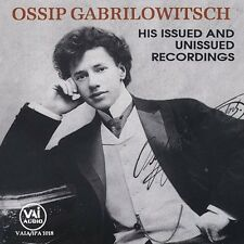 Ossip Gabrilowitsch - Ossip Gabrilowitsch [New CD]