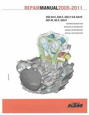 KTM Engine Service Workshop Shop Repair Manual Book 2007 250 XCF-W