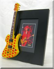 HIDE Miniature Guitar Frame Best Japanese Guitarist