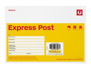 50 x Australia Post EXPRESS C5 envelopes