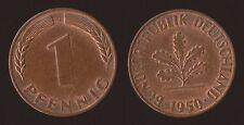 GERMANIA GERMANY 1 PFENNIG 1950 G