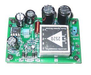 Jensen 990/ API 2520 Mic Preamp PCB with meter driver circuit