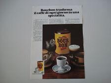 advertising Pubblicità 1972 CAFFE' BOUR BON