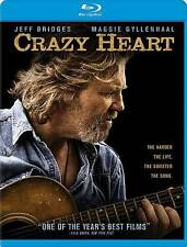 Crazy Heart Blu-ray Disc 2 Disc ROBERT DEVALL  JEFF BRIDGES MAGGIE GYLLENHAAL