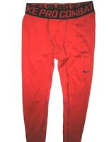 683990421 KERRY WYNN NEW YORK GIANTS ROOKIE YEAR GAME WORN   SIGNED NIKE PRO COMBAT  TIGHTS