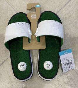 Reef Mulligan Golf Sandal Slides Mens Size 12 CI3748 Sold Out Green White