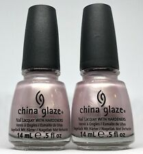 China Glaze Nail Polish Princess Grace 208 Light Pearly Pink Lavender Lacquer