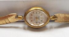 Vintage Ladies VULCAIN DE SUISSE Gold Tone Watch  AS-IS PARTS / REPAIR