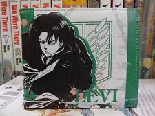 Attack On Titan Levi Anime & Manga Official Bi-fold Wallet