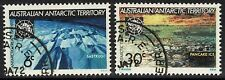 Antártico australiano Terr SG19/20 1971 Tratado Antártico Fine Used