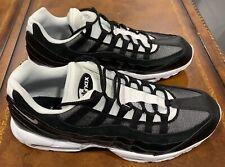 Nike Air Max 95 Men's Running Shoes Black White Size 15
