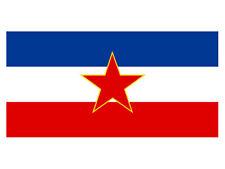 SFR Yugoslavia Flag  (Bumper Sticker)