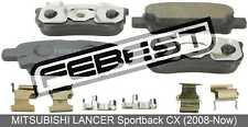 Pad Kit, Disc Brake, Rear - Kit For Mitsubishi Lancer Sportback Cx (2008-Now)
