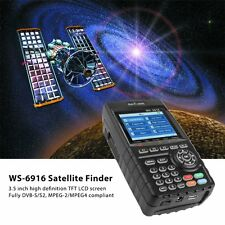 SATlink WS-6916 DVB-S/S2 Data Digital Satellite Finder Signal Meter MPEG-2/MPEG