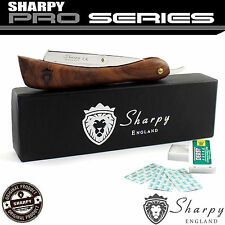 BARBER SALON STRAIGHT CUT THROAT SHAVING RAZOR SHAVETTE RASOIRS RASOI +10 BLADES